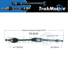 Surtrack 1PC FRONT RIGHT Cv Axle Shaft For 2012-2017 Ford Focus GAS Manual