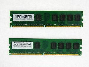 2GB Kit 2X 1GB DDR2 PC2-5300 667Mhz Dell XPS 210 400 410 420 600 700 710 Memory