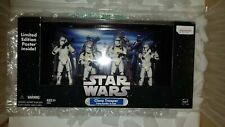 Star Wars Clone Trooper Troop Builder 4 Pack 2005 Limited Edition Poster Inside