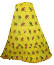INDIAN NEW DESIGNER COTTON LEHENGA ETHNIC LONG SKIRT GHAGRA WRAP AROUND DRESS