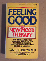 Feeling Good: New Mood Therapy by David D Burns M.D (1981 Mass Market Paperback)