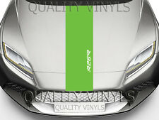 RENAULT MEGANE R26 R BONNET RACING STRIPES GRAPHIC DECAL STICKERS BS75