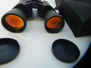 Binoculars 10x50 field 5.7 99m/1000m with cary bag
