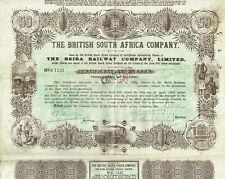 SOUTH AFRICA BEIRA RAILWAY COMPANY stock certificate/bond