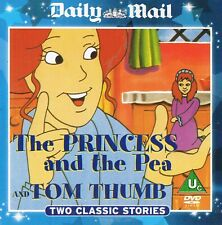 The Princess And The Pea + Tom Thumb- Childrens Animation - DVD N/Paper