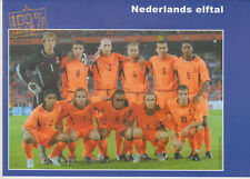 Postcard / Postkarte National Team Holland Holland-Austria 06-09-2003