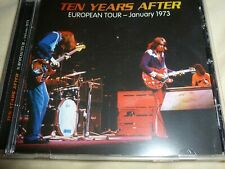"TEN YEARS AFTER : ""European Tour 1973"" (RARE CD)"