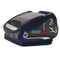 OXFORD X15 QR Tankbag Blue Lifetime Motorcycle Luggage 15L - OL228