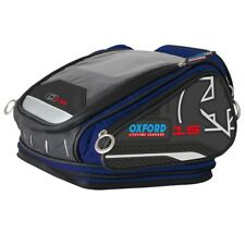 OXFORD X15 QR Tankbag Blue Lifetime Motorcycle Luggage 15L - OL228