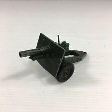 Vintage Britains Field Gun 641319 Die Cast 10cm In Length