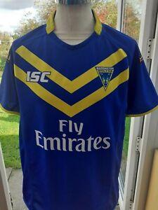 Warrington Wolves 2014 Shirt  Size  L Adult