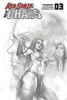 Red Sonja Age Of Chaos #3 1:25 Parrillo Sketch Incentive Variant (03/18/2020)
