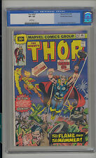 Thor #247 Cgc 8.5 Vf+ Unrestored Marvel Firelord White Pages 30 Cent Variant