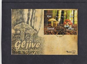 Bosnia Herzegovina 2020 Mushrooms First Day Cover FDC