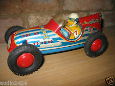 SUPERB MARUSAN KOSUGE JET #7 INDY  RACER 1955 JAPAN TIN TOY CAR VINTAGE TINPLATE