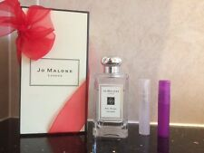 JO MALONE RED ROSES COLOGNE IN A NEW 5ML PLASTIC ATOMISER