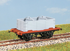 Parkside PC35 OO Gauge LNER Conflat Container Wagon Kit