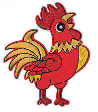 "Rooster - Farm - Chicken - Embroidered Iron On Applique Patch - 4 3/8""H"