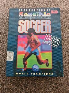 International Sensible Soccer Limited Edition Game for the Amiga - Big Box