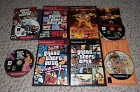 Grand Theft Auto III/Vice/Andreas/State of Emergency Lot (Playstation 2 PS2)