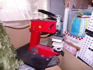 Presse transfert textile