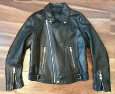 Sandro Leather Biker Jacket All Aero Skin Sain Belst Lewi Boda Perfect Acne Burb