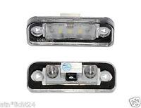Led Kennzeichenbeleuchtung für Mercedes SLK R171 CAN-Bus 6000K Plug & Play SMD