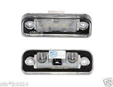 LED plaque d'immatriculation éclairage pour mercedes slk r171 CAN-BUS 6000k plug & play smd