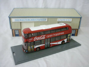 Corgi OOC OM46629 New Routemaster Route 10 Hammersmith London Coca-Cola
