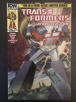 Transformers #100 variant IDW 2014 original #1 homage Comic Book