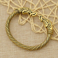 Viking Dragon Bracelet Vintage Wristband Women Norse Jewelry Bangles Gift 1pc