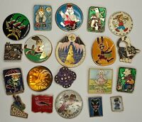 Soviet Cartoon characters Pins Set 20 pcs.  Vintage Made in USSR