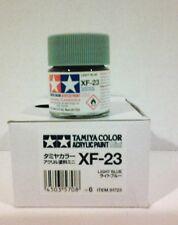 Tamiya acrylic paint XF-23 Light blue   10ml Mini.