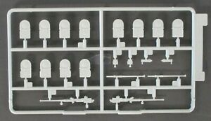 Dragon 1/35 Scale WWII US M16 Multiple Gun - Parts Tree Q from Kit No. 6381