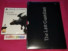 THE LAST GUARDIAN EDITION STEELBOOK SONY PS4 100% FR + LITHOGRAPHIES 29X21CM NEW