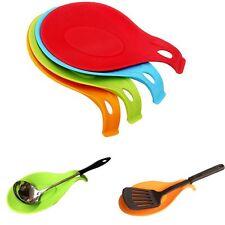 Rest Kitchen Tool Utensil Spatula Holder Spoon Fork Mat Heat Resistant