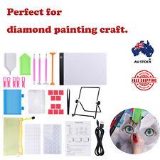 DIY Art Craft LED Pad Light Board With Stand Holder 5D Diamond Painting Tool Kit