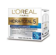 2X L'Oreal Hidra-Total 5 Cream Moisturizer 35+ Anti-Wrinkles w/ Colagen All Skin