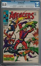 Avengers #550 Off-White to White Pages Marvel 08/1968  CGC  8.0  Ultron-5