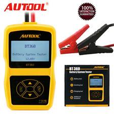 Autool BT360 Auto Battery System Tester Lead Acid Car Charging Test Analyze 12V