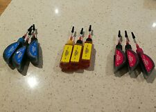 Printer ink refills. New. Calidad. X9. Blue. Yellow. Red 9mls each. Canon