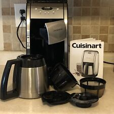 Cuisinart Grind & Brew 10-Cup Thermal Coffee Maker Stainless Steel DGB-600BC