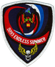 USAF 44th FIGHTER SQUADRON - ENDLESS SUMMER - PATCH