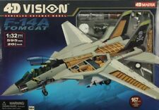 4D Vision Master 1:32 F-14 A Tomcat 4D Vision Vehicles Cutaway Model Kit #26121