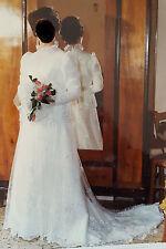 vestito da sposa vintage anno 1981