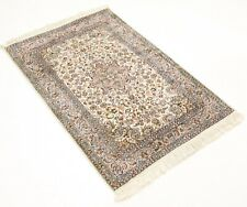 Kashmir Silk India Carpet 123 cm x 80 cm Orientteppich Top Condition No. 3