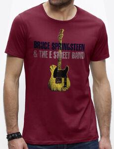 bruce springsteen T-shirt cranberry