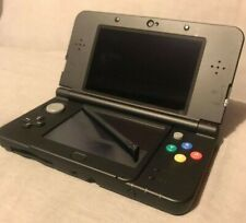 Nintendo 3DS 'New' Black Xenoblade Chronicles Case Cover Plates Handheld Console