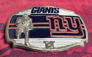 NEW YORK GIANTS PLAYER BELT BUCKLE NFL BUCKLES NEW NY