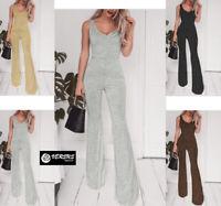 Tuta Pantaloni Casual Cerimonia Donna 4 Colori Woman Jumpsuit Romper 660033